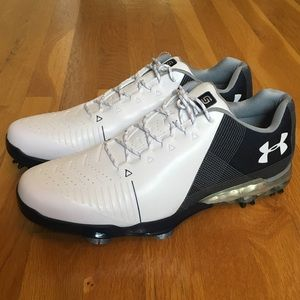 NWT Under Armour Spieth 2 Gore Tex Golf Shoes